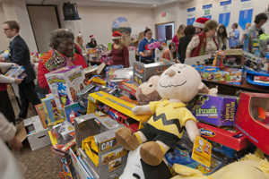 Holiday Toy Drop-off