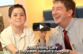 Outstanding Care at Baystate Children's Hospital